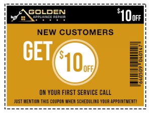 Golden Appliance Repair - 10% Off Coupon For New Customers